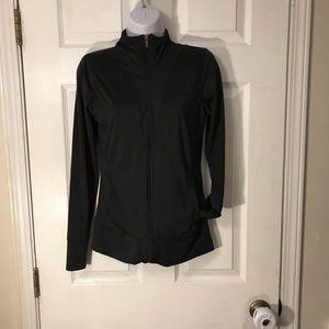 New Balance Size S Black Zip Up Athletic Top